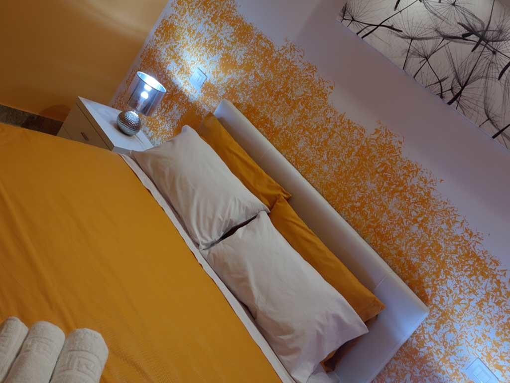 ColorsBB Palermo Bed & Breackfast Stanza Arancione