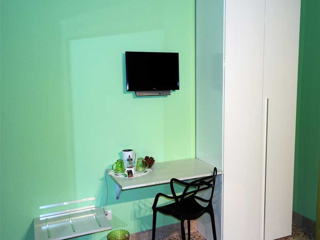 ColorsBB Palermo Bed & Breackfast Stanza Verde